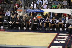 NBA Utah Jazz bench Royalty Free Stock Images