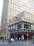 NBC News. The NBC News building in New York City Stock Images