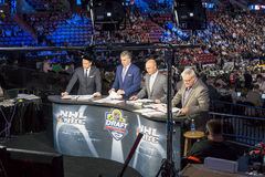 NBC Sports Live At The 2015 NHL Draft Royalty Free Stock Photos