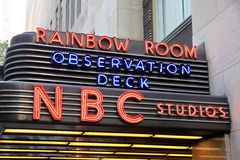 NBC Studios Royalty Free Stock Images