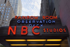 NBC Studios Royalty Free Stock Photos