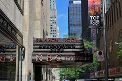 NBC Studios, New York Royalty Free Stock Images