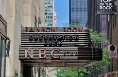 NBC Studios, New York Stock Images