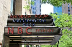NBC Studios, New York royalty free stock photography