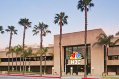 NBC Television Network Broadcast Center Royalty Free Stock Image
