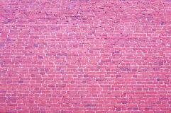 Brick pink background. Cool classic red brick background royalty free stock photos