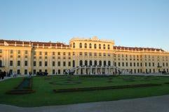 nbrunn sch pałacu. obraz stock