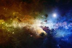 Nébuleuse, espace lointain Image libre de droits