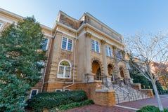 NC的州立大学特森霍尔 免版税库存照片