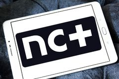 NC συν το λογότυπο Στοκ Εικόνες