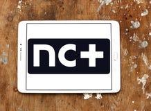 NC συν το λογότυπο Στοκ φωτογραφία με δικαίωμα ελεύθερης χρήσης