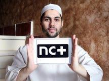 NC συν το λογότυπο Στοκ Εικόνα