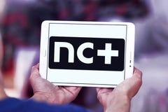 NC плюс логотип Стоковое Изображение RF