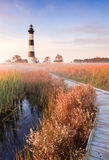NC Bodie Island Lighthouse Hatteras NC Royalty Free Stock Photos
