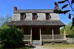 巴恩, NC :1790范Der Veer Dutch殖民地居民议院 免版税库存照片