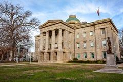NC Kapitałowy Buduje Raleigh, Pólnocna Karolina obrazy royalty free