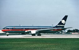 NC 26272 LN 594 de Aeromexico Boeing b-757-2Q8WL N805AM Fotos de archivo libres de regalías