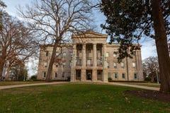 NC Raleigh de construção principal, North Carolina fotografia de stock royalty free