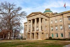 NC Raleigh di costruzione capitale, Nord Carolina immagine stock libera da diritti
