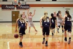 NCAA女子的篮球 图库摄影