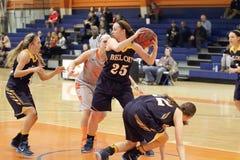NCAA女子的篮球 库存图片