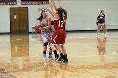 NCAA女子的篮球 免版税库存照片