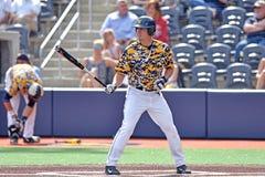 2015 NCAA棒球- TCU @ WVU 库存图片