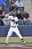 2015 NCAA棒球- WVU-TCU 库存照片