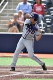 2015 NCAA棒球- WVU-TCU 免版税库存照片