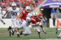 2015 NCAA橄榄球-宾州州立大学对 马里兰 图库摄影