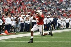 2015 NCAA橄榄球-宾州州立大学对 马里兰 库存照片