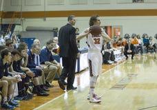 NCAA精神篮球 免版税图库摄影