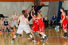 NCAA καλαθοσφαίριση των γυναικών Στοκ φωτογραφία με δικαίωμα ελεύθερης χρήσης