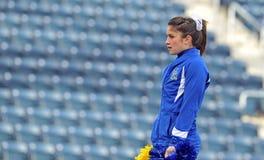 ncaa 2011 футбола чирлидера Стоковые Фотографии RF