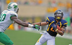 NCAA 2012 - Action de WVU-Marshall Photographie stock