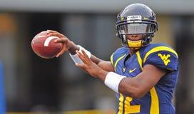 NCAA 2012 - WVU-Marshall action Stock Image