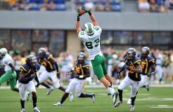 NCAA 2012 - WVU-Marshall action Royalty Free Stock Photo