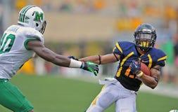 NCAA 2012 - WVU-Marshall-Tätigkeit Stockfotografie