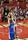 NCAA 2013 Baseketball - defesa Fotos de Stock
