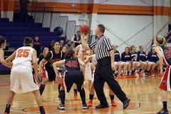 Баскетбол девушок NCAA Стоковые Изображения RF
