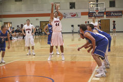 NCAA afd. III het Basketbal van Mensen Stock Fotografie