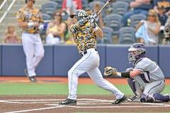2015 NCAA-Baseball - TCU @ WVU Stockbilder