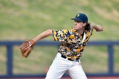 2015 NCAA baseball - TCU @ WVU Fotografia Royalty Free