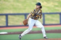 2015 NCAA-Baseball - TCU @ WVU Lizenzfreie Stockfotografie