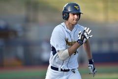 2015 NCAA-Baseball - WVU-TCU Lizenzfreie Stockbilder