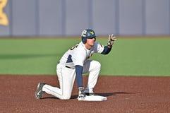 2015 NCAA baseball - WVU-TCU Obrazy Royalty Free