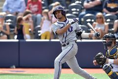 2015 NCAA-Baseball - WVU-TCU Stockfotos
