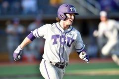 2015 NCAA Baseball - WVU-TCU Royalty Free Stock Photo