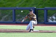 2015 NCAA Baseball - WVU-TCU Stock Photography