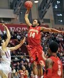 NCAA Basketbal 2012 - de slag dompelt start onder Stock Fotografie
